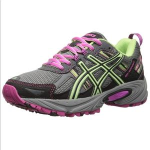 Asics Gel Venture 5 Running Shoes Titanium Pink 11